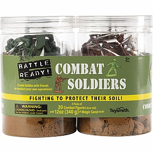 BATTLE READY COMBAT SOLDIERS