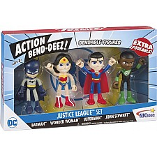 Action Bendables Jl Boxed Set