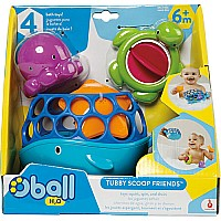 Oball Tubby Scoop Friends