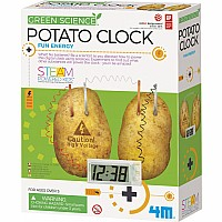 POTATO CLOCK (6) *4M