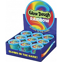 Rainbow Glow Dough