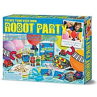 4M Create Your Own Robot Party Kit