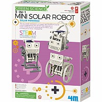 Mini Solar Robot 3 In