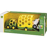 John Deere Farm Trailer Set