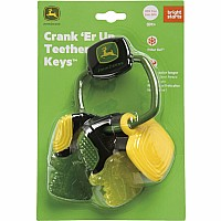 Bright Starts John Deere Crank 'Er Up Teether Keys