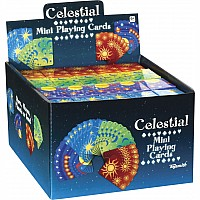 Celestial Mini Playing Cards, Assorted 1 random per order