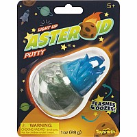 LIGHT UP ASTEROID PUTTY