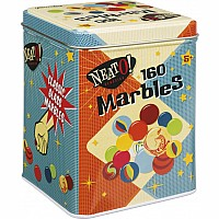 Marbles In Retro Tin Box