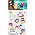 Glow Owl Tattoos