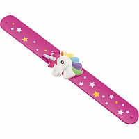 Sparkle More Unicorn Slap Bracelet
