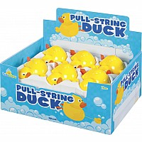 Duck Pull-String Bath Toy