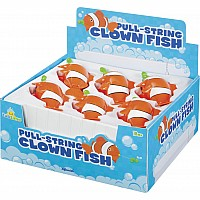 Clownfish P/String Bath Toy