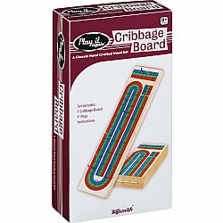 Triple Track Cribbage Board