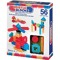 Bristle Blocks Basic Builder Box 56pcs