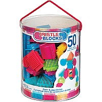 Bristle Blocks Basic Builder Bucket 50pcs