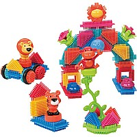 Jungle Bristle Blocks 54 Pcs