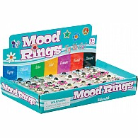Flower Mood Rings