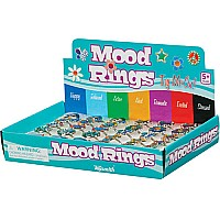 Rhinestone Mood Rings
