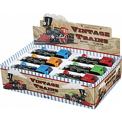 Vintage Trains, assorted, 1