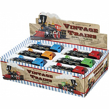 Die Cast Vintage Train Steam Engine