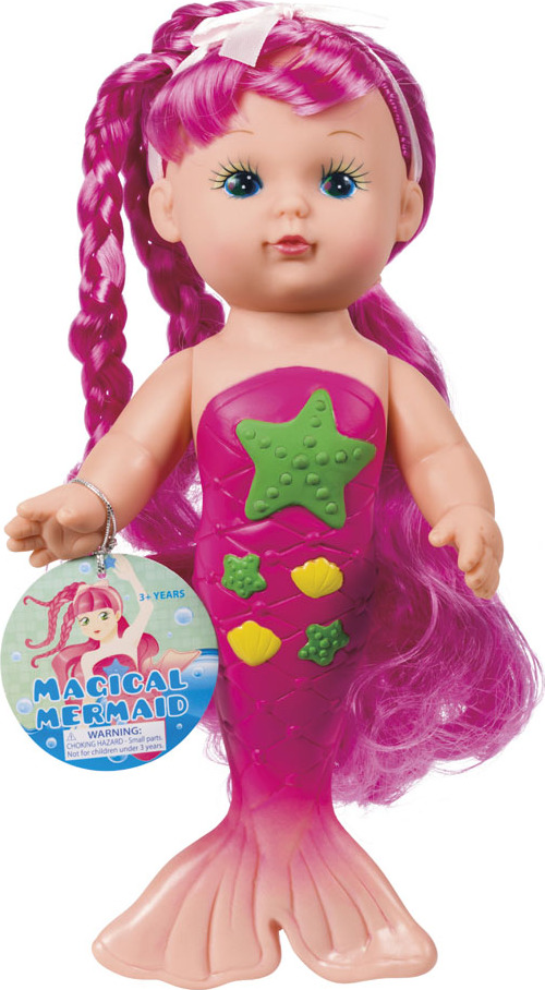 Bathtime Mermaid Doll Toysmith
