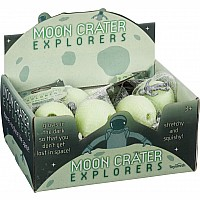 Stretchy Moon Crater Explorers