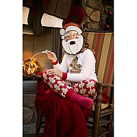 Moving Mouth Masks - Santa