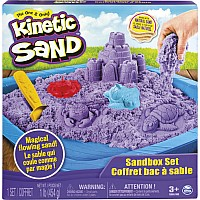 Kinetic Sand Sand Box & Molds