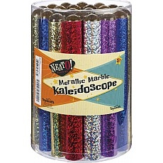 Metallic Marble Kaleidoscope (Assorted Colors)