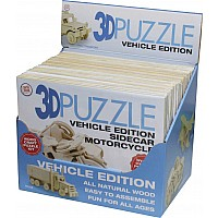 3D Puzzle Vehicle