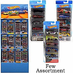 Mattel Hot Wheels 5-Pack