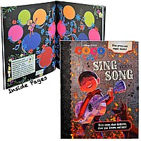 "Disney Pixar Coco Foil cover Draw, Inspire, Create Activity 8""x8"" Book (64 full color pgs + 2 paper cut out skull masks)"