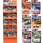 Mattel DP Matchbox Sidekick Car Collection in Display