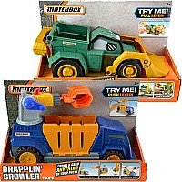 Mattel- Matchbox Feature Truck Asst