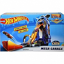 Mattel DP EC Hot Wheels Mega Garage