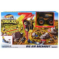 Mattel DP Hot Wheels Monster Truck Big Air Breakout Playset
