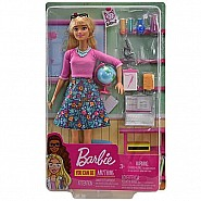 Mattel DP EC Barbie Teacher Blonde