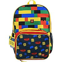 "Lego 16"" Backpack with Lunch Bag"