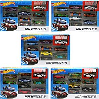 Mattel DP Hot Wheels Basic Car 9 Pack