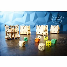 Ugears Games Dice Tower