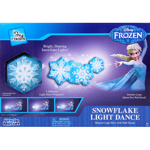 Frozen ElsaSnowflake Light Dance - Amazing Toys