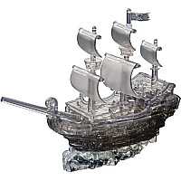 Deluxe 3d Pirate Ship Black