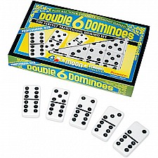 Double 6 Dominoes, Prof. Size