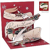 3D Greeting Card - Peace Doves