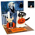 Dogs in Costume Pop-Up Greeting Card - PS-766