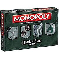 Attack on Titan - MONOPOLY