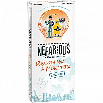 Nefarious Becoming a Monster Expansion - LIGHT STRATEGY GAMES