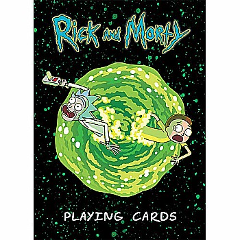 Rick and Morty - PLAYING CARDS