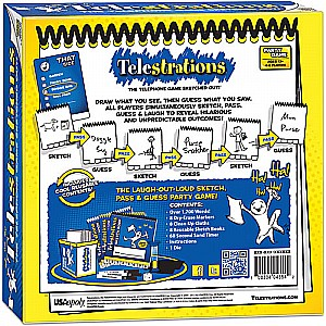 Telestrations 8 Player-The Original - PARTY GAME