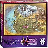 The Legend of Zelda Majora's Mask: Termina Map - PUZZLES (550 PIECE)